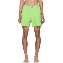 Green Traveler Swim Shorts