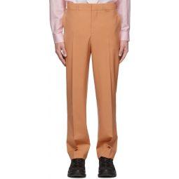 Orange Flap Trousers