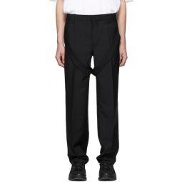 Black Fresh Trousers