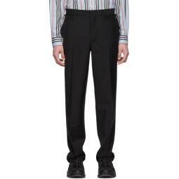 Black Flap Trousers