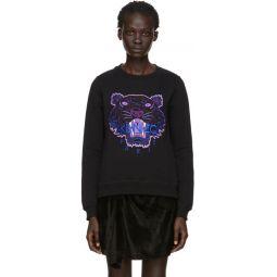 Black Limited Edition Holiday Tiger Sweatshirt
