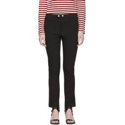 Black Nila Trousers