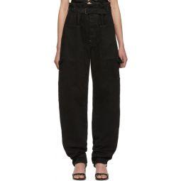Black Inny Trousers