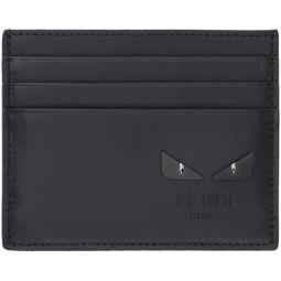 Black Bag Bugs Card Holder