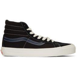 Black & Blue OG Sk8-Hi LX Sneakers