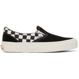 Black Modernica Edition OG Classic Slip-On Sneakers