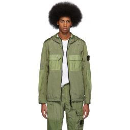 Green Metal Watro Ripstop Coat