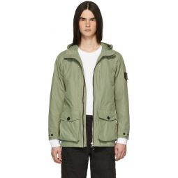 Green Mid-Length Coat