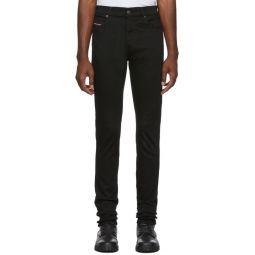 Black D-istort Jeans