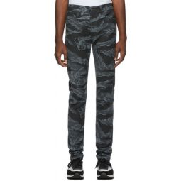 Black & Grey D-Amny-SP1 Jeans