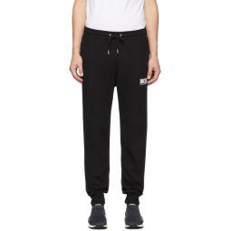 Black P-Tary-Logo Lounge Pants