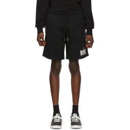 Black P-Alf Shorts