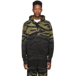Green Camo S-Alby-Tigercam Hoodie