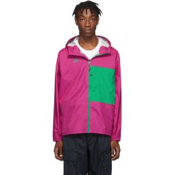 Pink & Green ACG Packable Rain Jacket
