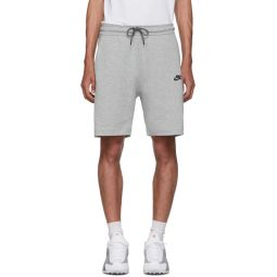 Grey Tech Fleece Shorts
