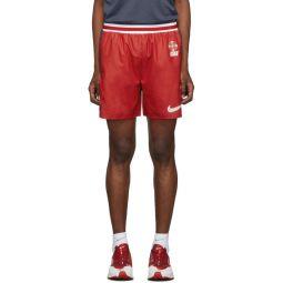 Red & Blue Gyakusou Utility Shorts
