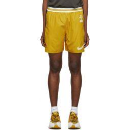 Yellow & Grey Gyakusou Utility Shorts
