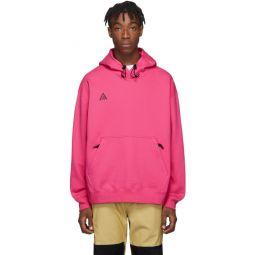 Pink ACG Pullover Hoodie
