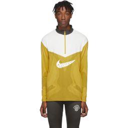 Yellow & Grey Gyakusou Half-Zip Sweater