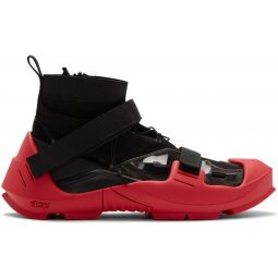 Black & Red MMW Edition Free TR 3 SP Sneakers