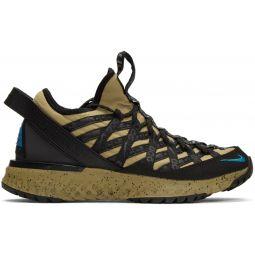 Tan & Black ACG React Terra Gobe Sneakers