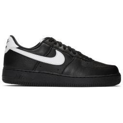 Black Retro QS Air Force 1 Sneakers