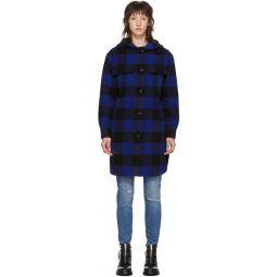 Black & Blue Check Beck Coat