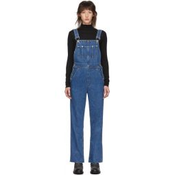 Blue Ruth Straight Overalls