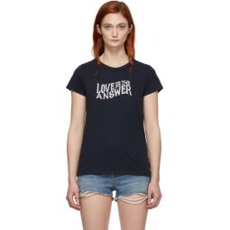 Navy Love T-Shirt