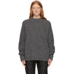 Grey Alpaca Airy Sweater