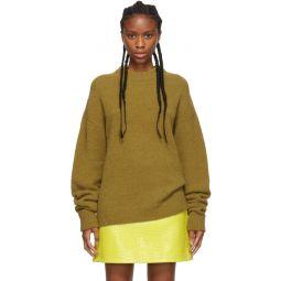 Tan Alpaca Airy Pullover Sweater