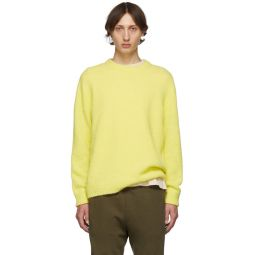 SSENSE Exclusive Yellow Airy Sweater