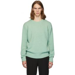 SSENSE Exclusive Green Alpaca Airy Pullover Sweater