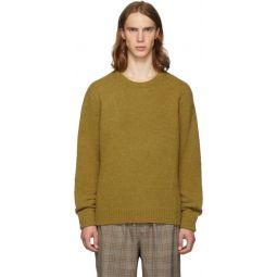 SSENSE Exclusive Tan Alpaca Airy Pullover Sweater