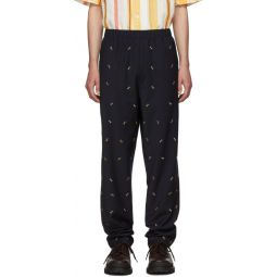 SSENSE Exclusive Navy Ant Pull On Trousers