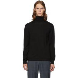 SSENSE Exclusive Black Merino Wool Slim-Fit Turtleneck