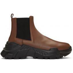 SSENSE Exclusive Brown Diego Glove Boots