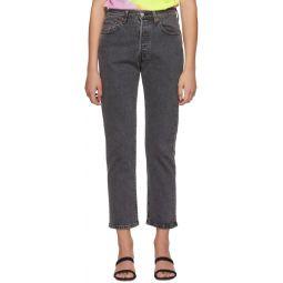 Black 501 Original Jeans