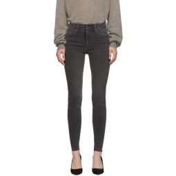 Black High-Rise Super Skinny Jeans