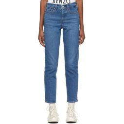 Blue Wedgie Icon Fit Jeans