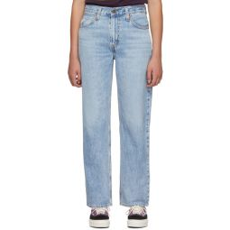 Blue Dad Jeans