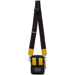 Black & Yellow Detour Crossbody Bag