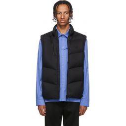 Black Down Jacot Vest