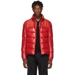 Red Down Bruel Jacket