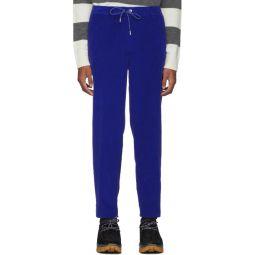 Blue Velvet Sportivo Trousers