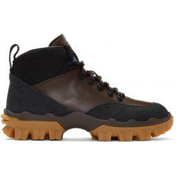 Black & Brown Hektor Boots