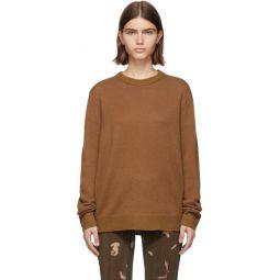 Brown & Pink Cashmere Kassio Sweater