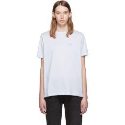 Blue Ellison Face T-Shirt