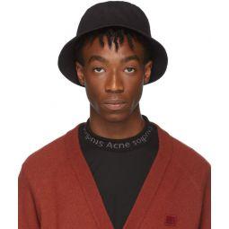 Black Buk Face Bucket Hat
