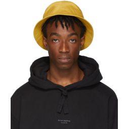 Yellow Buk Face Bucket Hat